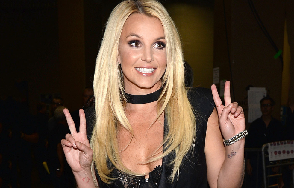 Britney Spears With New Hairstyle