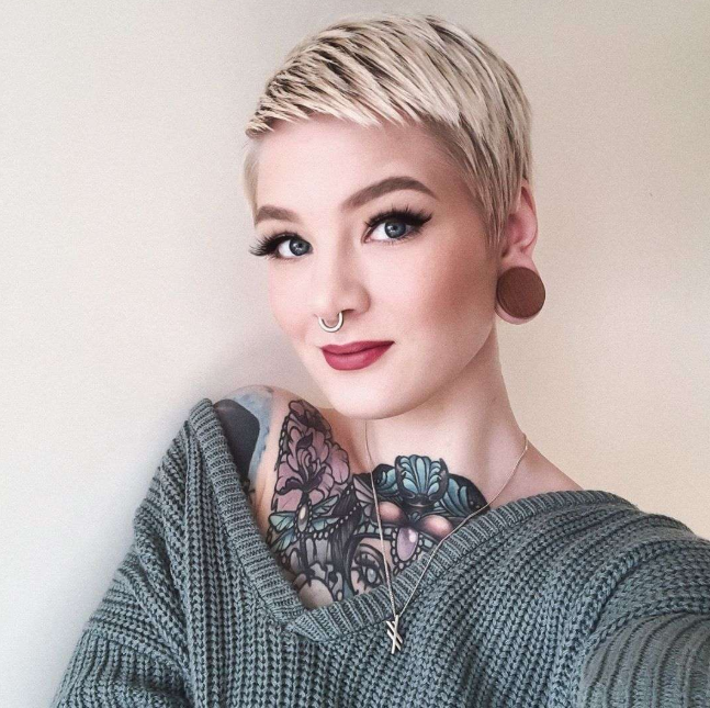 Blonde Short New Hairstyle