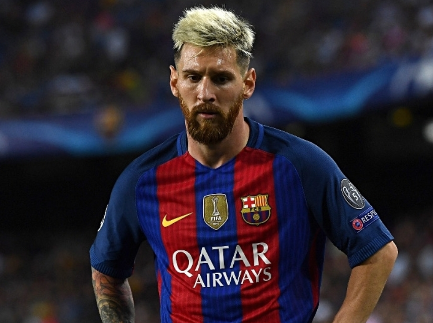 Lionel Messi New Hairstyle Hair Color Different Haircut