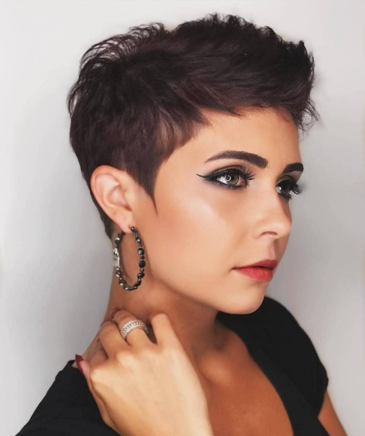 Short Pixie New Hairstyle For Women