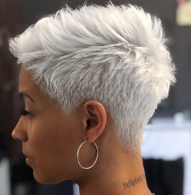Pixie New Hair style For Women