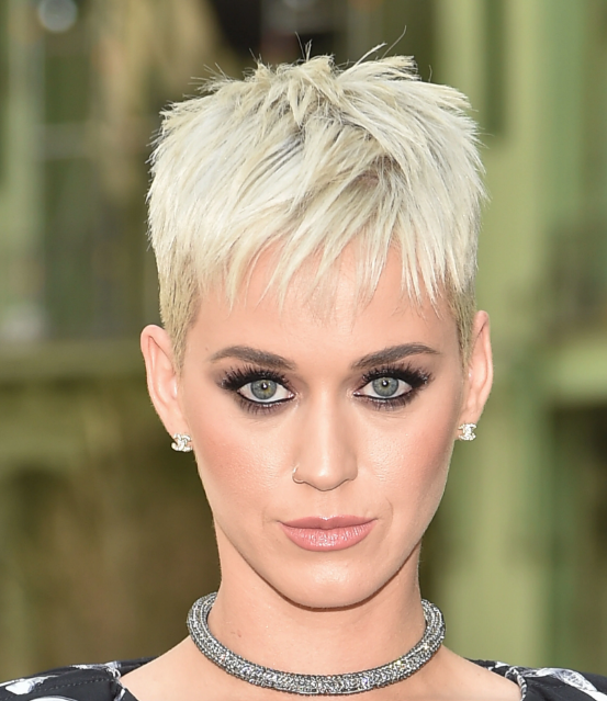 katy perry with new haircut