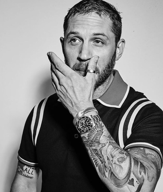Tom Hardy New Hairstyle