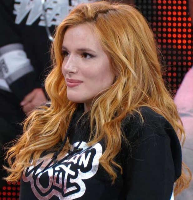 Bella Thorne With New Hair