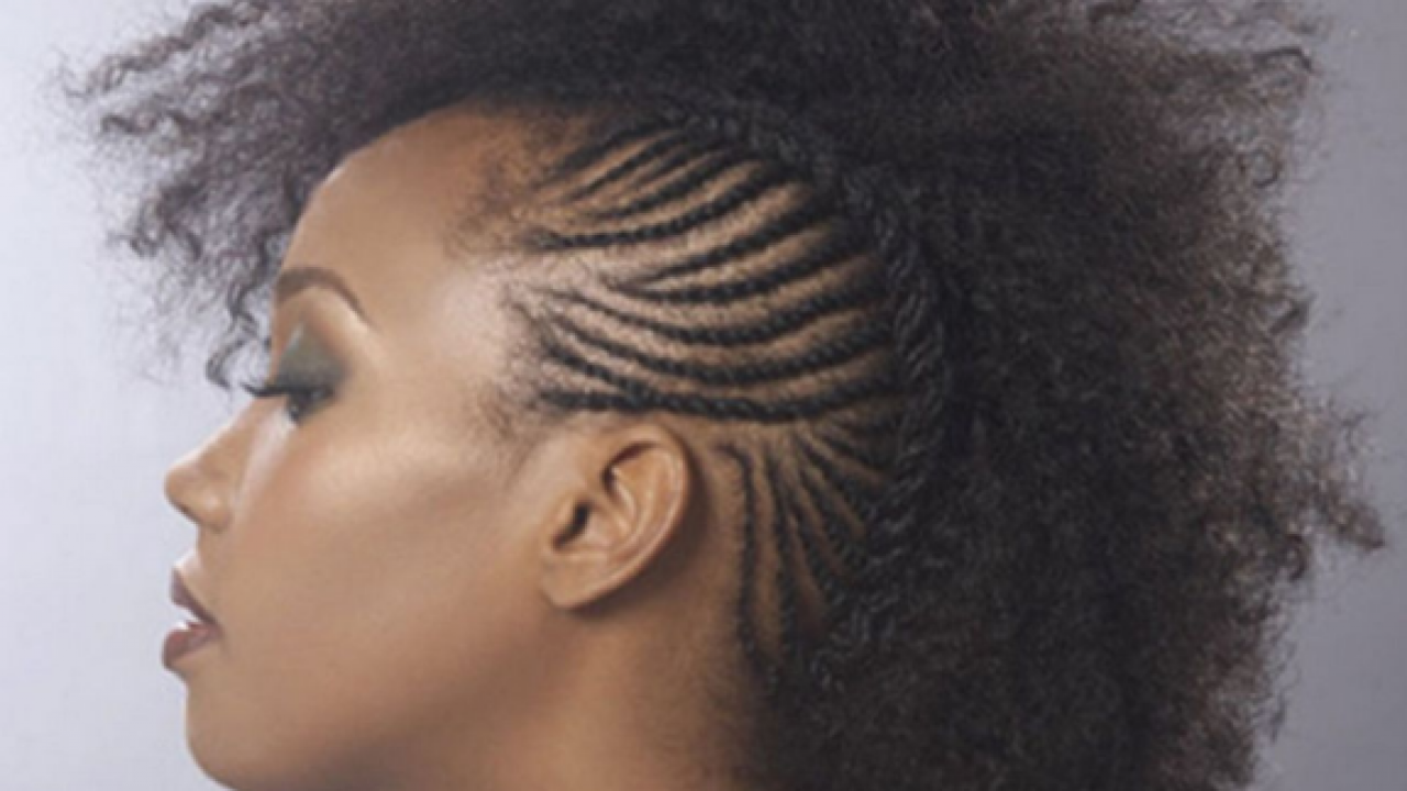 Black Girl Mohawk Hairstyle   New Hairstyle And Haircut