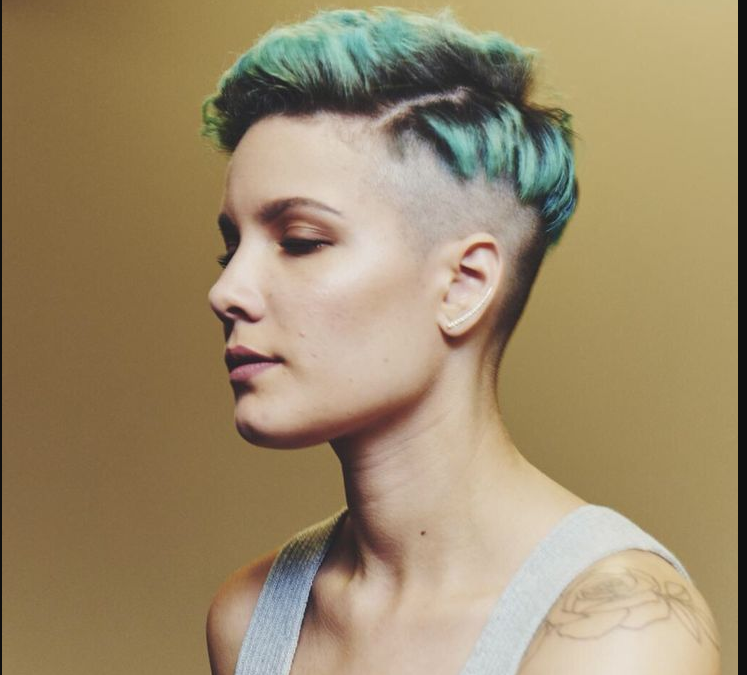 Halsey New Hairstyle