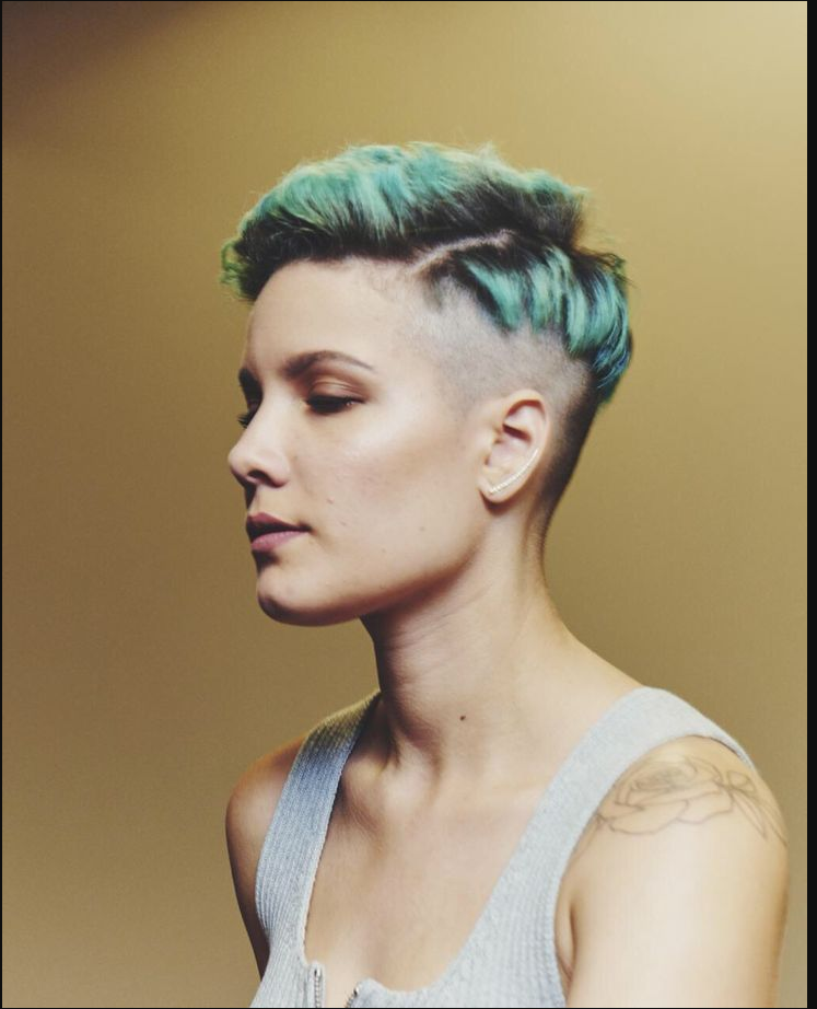 Halsey New Haircut