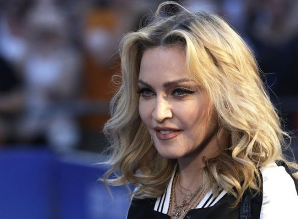 Madonna New Hairstyle