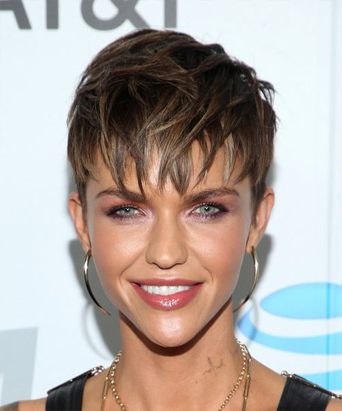 Ruby Rose New Hairstyle